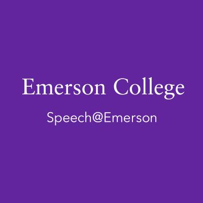 Speech@Emerson Logo